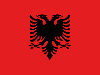 Flag: About Albania