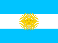 Flag: About Argentina