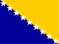 Flag: About Bosnia and Herzegovina