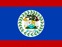 Flag: About Belize