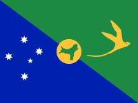 Flag: About Christmas Island