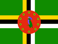 Flag: About Dominica