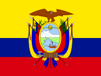 Flag: About Ecuador