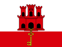 Flag: About Gibraltar