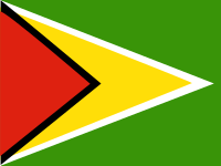 Flag: About Guyana