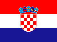 Flag: About Croatia