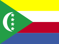 Flag: About the Comoros