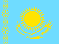 Flag: About Kazakhstan