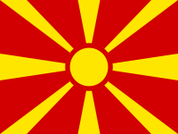 Flag: About Macedonia