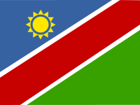 Flag: About Namibia