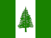 Flag: About Norfolk Island
