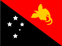 Flag: About Papua New Guinea