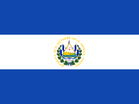 Flag: About El Salvador