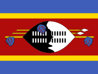 Flag: About Swaziland
