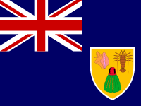Flag: About the Turks and Caicos Islands