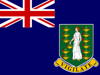 Flag: About the British Virgin Islands