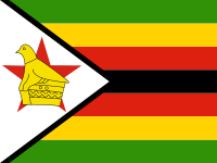 Flag: About Zimbabwe